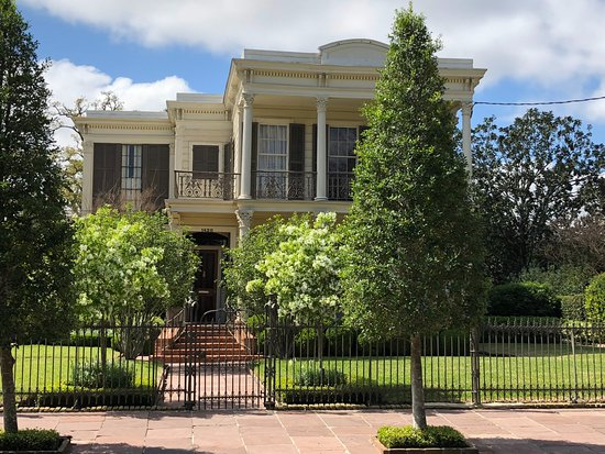 Garden District: Archie Manning's home- one of the stops on the Atlantis audio tour
