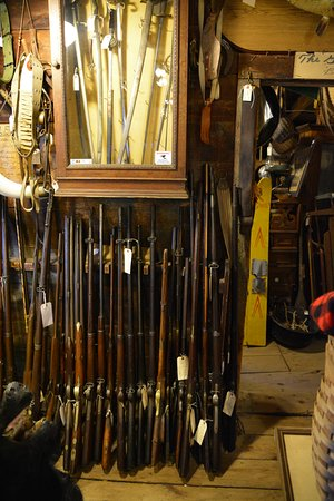 Ticonderoga, NY: Beautiful Rifles, Lonergan's