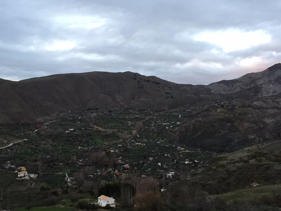 La Almunia del Valle: View from our room