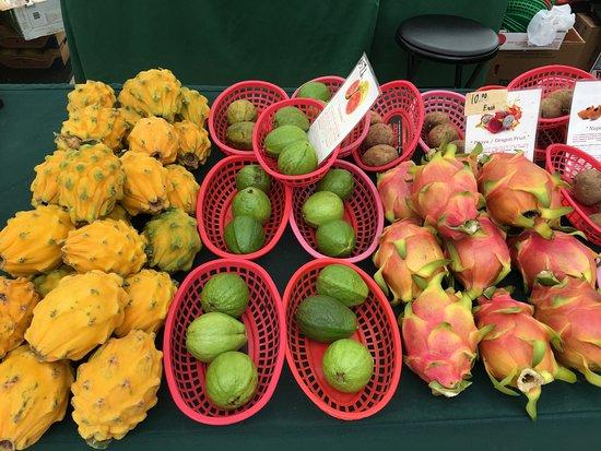West Palm Beach Green Market: Fresh produce