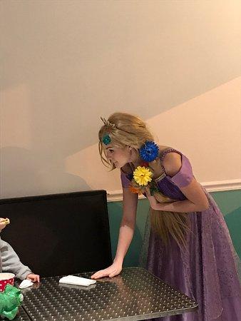 Voorhees, NJ: Character Visit - Rapunzel