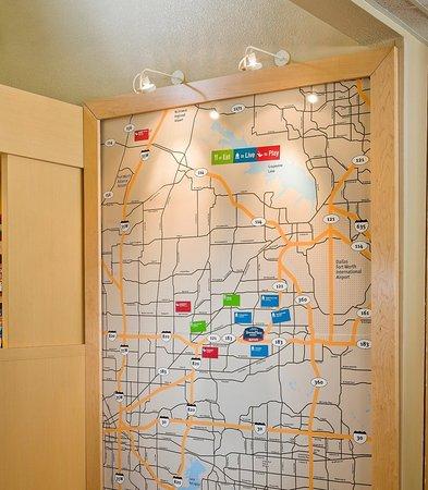 Бедфорд, Техас: Map