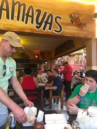 Guacamaya's: Awesome food.