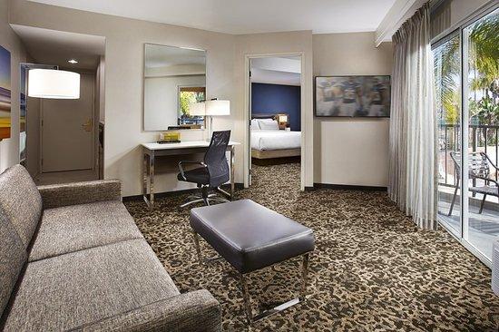 Hilton Garden Inn San Diego Mission Valley Stadium Updated 2018 Prices Hotel Reviews Ca