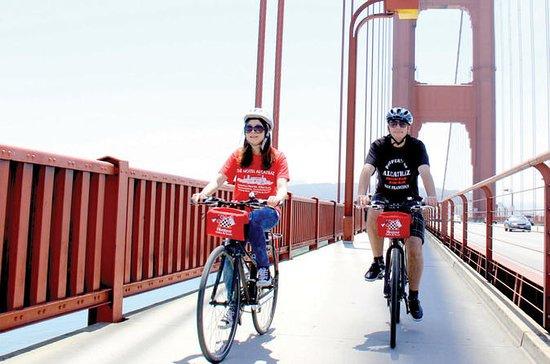 Traversée guidée du Golden Gate Bridge à vélo