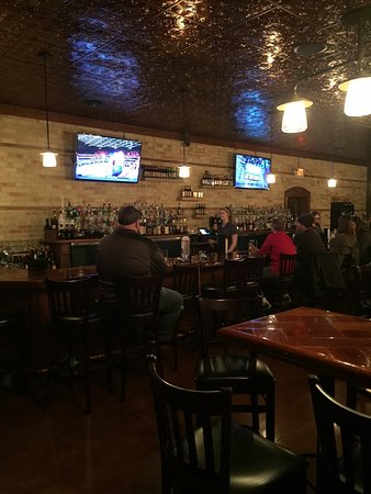 Clinton, WI: Bar Area