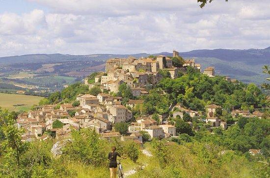 Albi besøk, Cordes landsby, Gaillac...