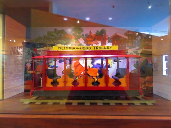 The Trolley Picture Of Fred Rogers Exhibit Latrobe Tripadvisor