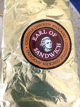 Earl of Sandwich: A great sandwich inside this wrapper