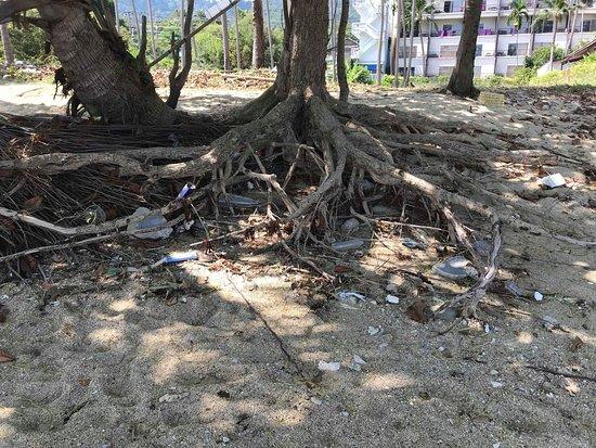 Mercure Koh Samui Beach Resort: Dirty beach