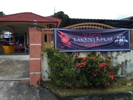 Melaka State, Malaysia: Kambing Bakar Bukit Beruang