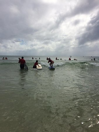 Merrick's Noosa Learn to Surf: towards the end of my long ride <3