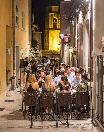 Caprice Des Deux Restaurant Saint Tropez