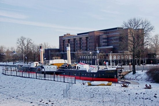 Stadtpark Rotehorn: Museumsschiff
