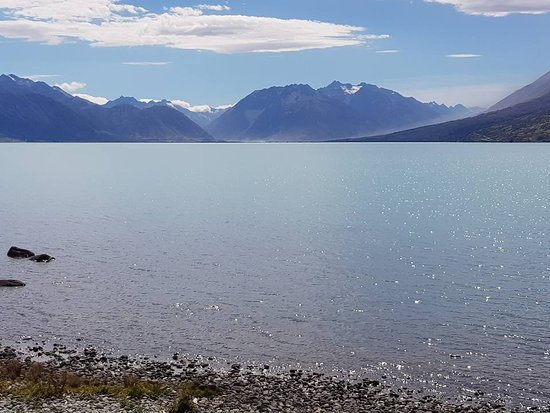 ‪‪Lake Ohau‬, نيوزيلندا: Lake Ohau - looking North‬