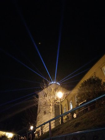 Lotrščak Tower: Zagreb light festival