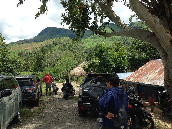 Atambua, Indonesien: Tempat parkir kendaraan
