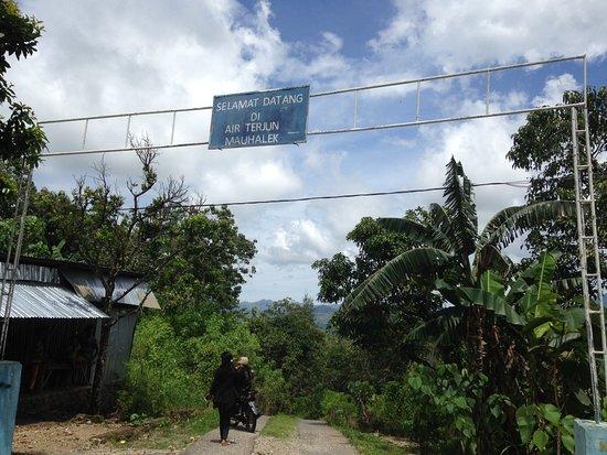 Atambua, Indonesia: Gerbang masuk