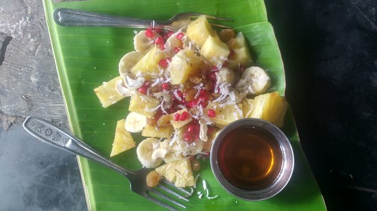 Green Restaurant and catering: Fruit salad