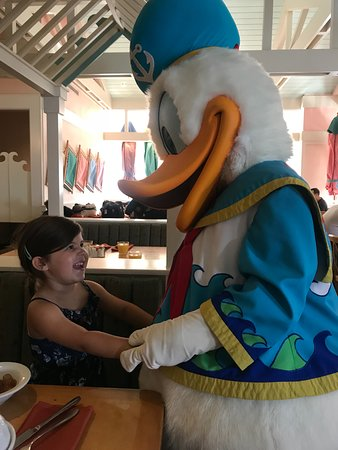 Disney's Beach Club Resort: Character breakfasts were fantastic although a treat as they are on the expensive side.