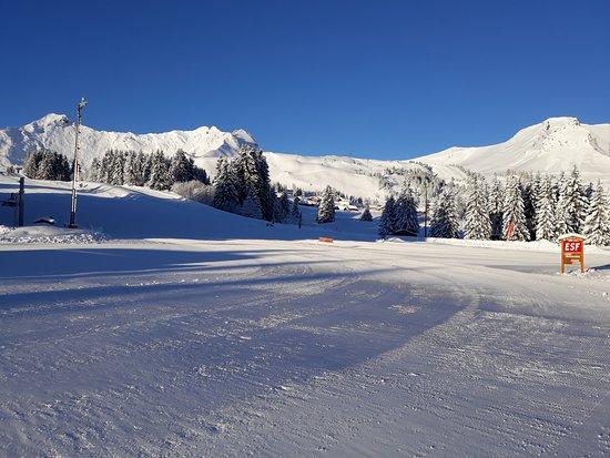 Taninges, Frankrijk: le front de neige