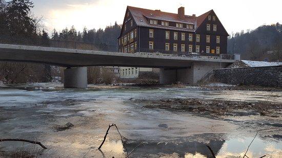 Treseburg Bode rivier