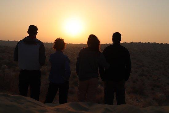 The Real Deal Rajasthan Camel Safari: Sunrise in the desert