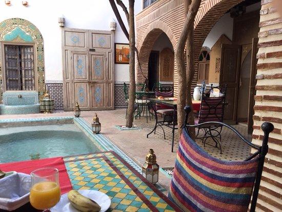 Innenhof Picture Of Riad Fleur D Orient Marrakech Tripadvisor