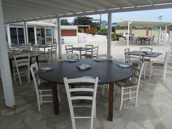 Pervolia, Cyprus: Infinite blue