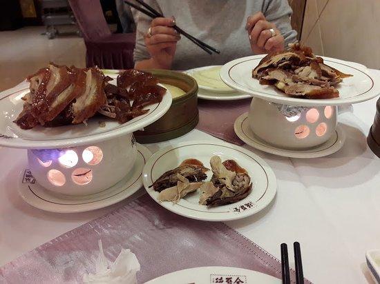 Quanjude Roast Duck (Wangfujing): Set menu