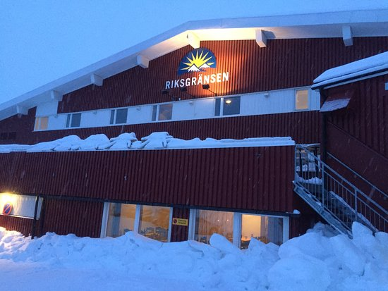 Riksgransen, السويد: Hotel Riksgransen