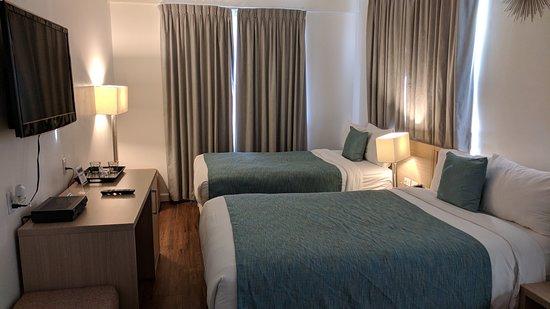 Villa Italia Hotel: Room with TV