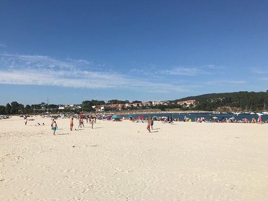 Hotel Varadoiro: Playa de Baltar