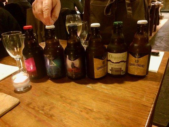 Chantairelle: Un choix de bières artisanales