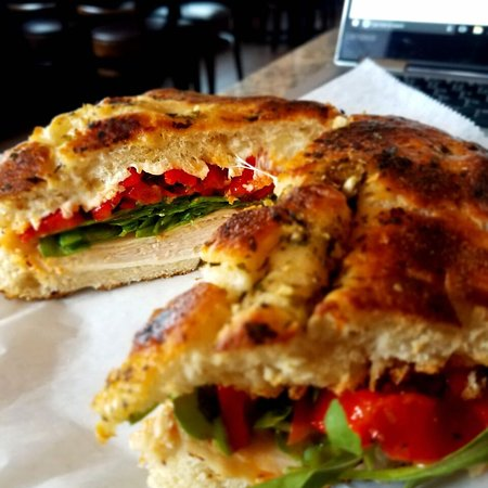Summit, NJ: Turkey Focaccia