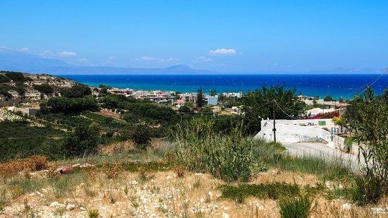 Ausblick über Stavromenos in der direkten Umgebung