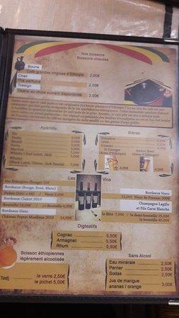 Restaurant Adey Abeba Bordeaux