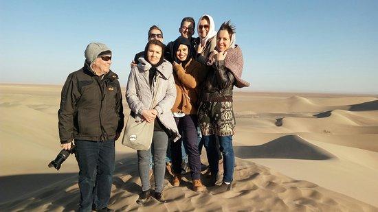varzaneh desert on of the best place for visiting deser