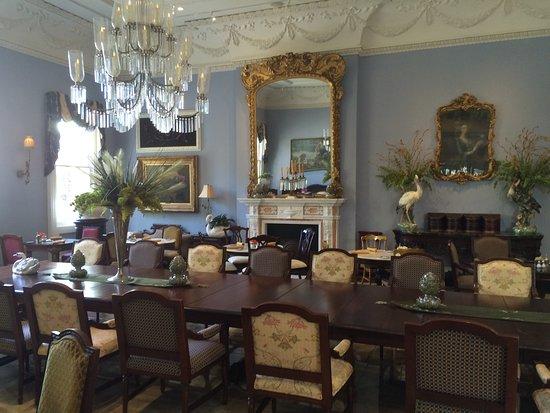 Darrow, Louisiane : House interior, dinning room