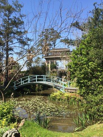 Darrow, Louisiane : Japanese Garden in Plantation