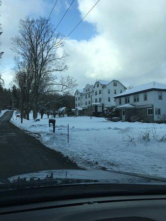 Kenoza Lake, نيويورك: Snowy winter day