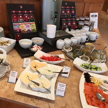 Hotel Seerose: Frühstück