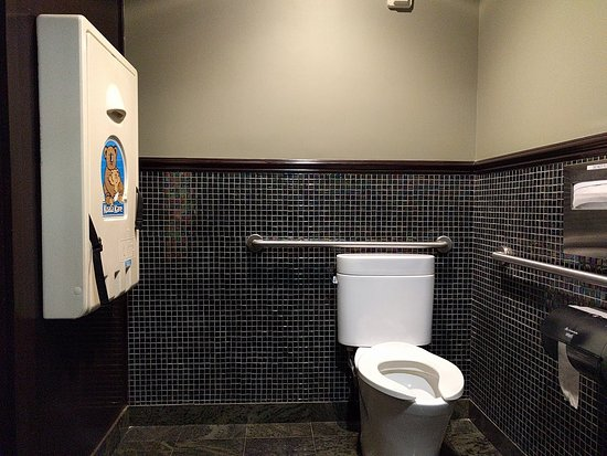 Front Porch Cafe: Women's Handicap Bathroom - Inc. Baby Changing Table