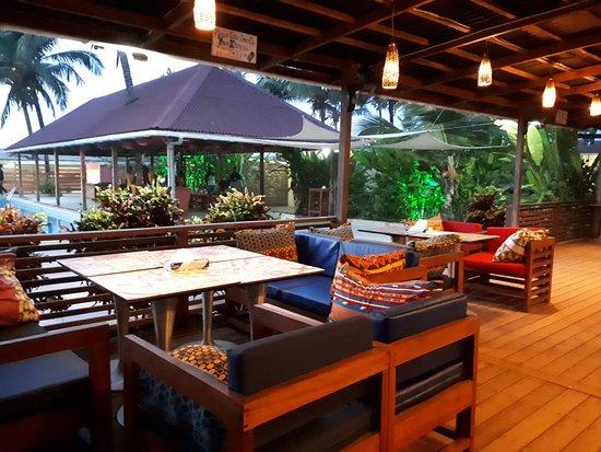Bar area - Picture of Tropicana Beach & Resort, Monrovia - Tripadvisor