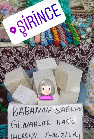 Sirince, Turquia: Babaanne sabunu ne işe yarar