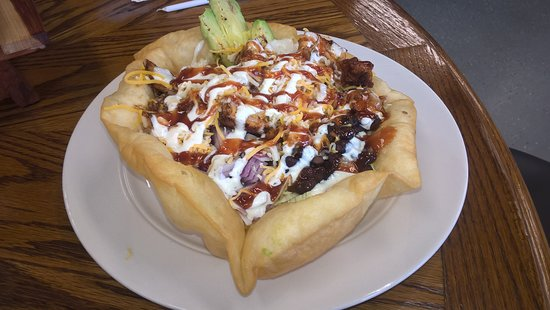Clarksville, AR: My wife loved this. Buttery crust, taco food