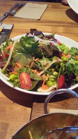 Prince George, Canada: The edamame in this salad were a nice touch!