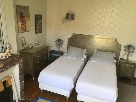 Le Belvedere Bed and Breakfast: Chambre indienne, version 2 lits