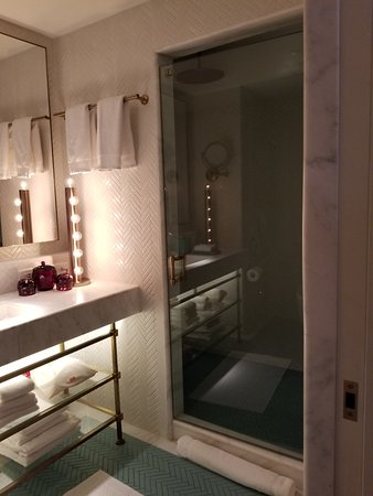 Faena Hotel Miami Beach: Small But Very Nice Bathroom.
