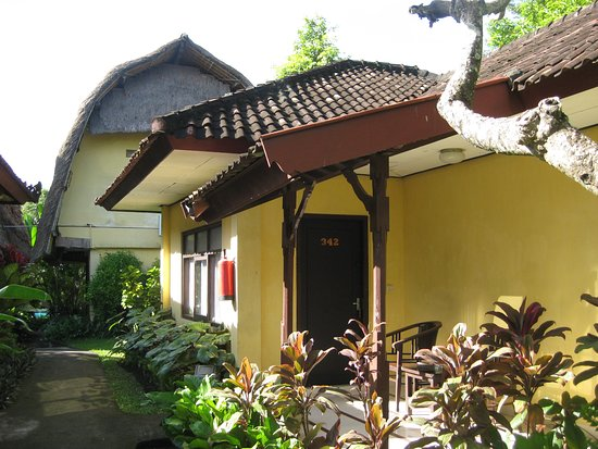 Puri Dalem Cottages: Photo of the outside of my room,